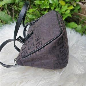 Fendi Bags - Fendi double strap Zucchino Print handbag